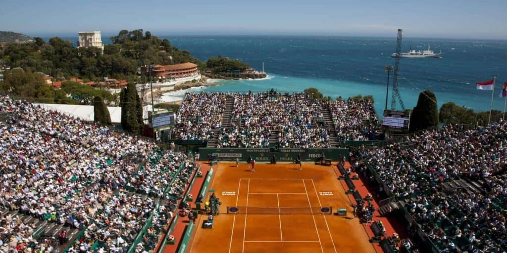 Tennis Court In Monte Carlo